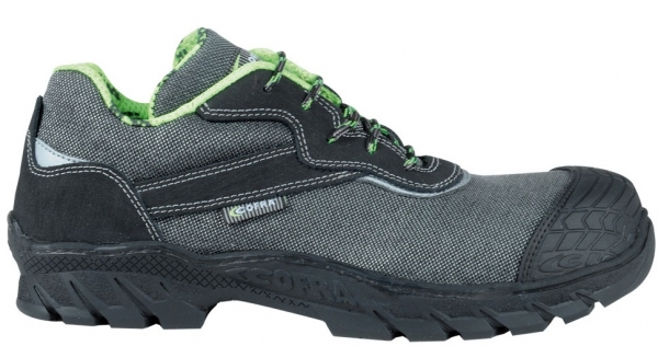 COFRA-VEREINA S3 HI CI HRO SRC, Sicherheits-Arbeits-Berufs-Schuhe, halb, schwarz