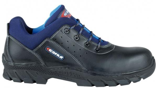 COFRA-SCORPIO BIS S3 HI CI HRO SRC, Sicherheits-Arbeits-Berufs-Schuhe, halb, schwarz