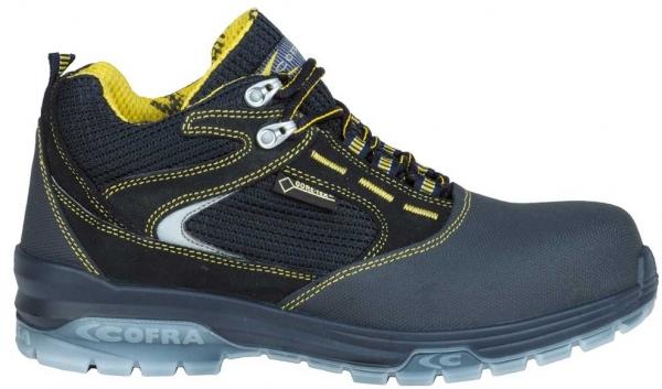 COFRA-BOTTICELLI BLUE S3 WR SRC, Sicherheits-Arbeits-Berufs-Schuhe, Schnürstiefel, hoch, blau