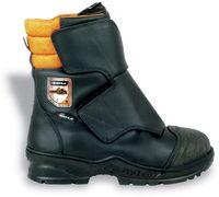 COFRA-STRONG S3 A E P FO WRU HRO SRC, Forstarbeiter-Sicherheits-Arbeits-Berufs-Schuhe, Hochschuhe, schwarz
