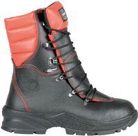 COFRA-FORCE S3 A E R FO WRU HRO SRC, Forstarbeiter-Sicherheits-Arbeits-Berufs-Schuhe, Hochschuhe, schwarz/orange