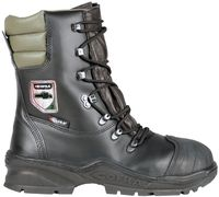 COFRA-POWER A E P FO WRU HRO SRC, Forstarbeiter-Sicherheits-Arbeits-Berufs-Schuhe, Hochschuhe, schwarz