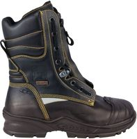 COFRA-SPRINKLER, F2A, CI, HI, SRC, Sicherheits-Arbeits-Berufs-Schuhe,  Hitzeschutz, schwarz