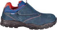 COFRA-ALTIMETER, S1 P, SRC, Sicherheits-Arbeits-Berufs-Schuhe, Halbschuhe, Klettverschluss, blau
