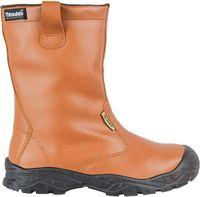 COFRA-CAMBER, S3, UK CI  SRC, Winter-Sicherheits-Arbeits-Berufs-Schuhe, chlupfstiefel, braun