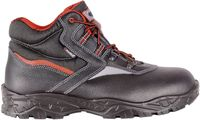 COFRA-CUTTER, S3, SRC, Sicherheits-Arbeits-Berufs-Schuhe, Hochschuhe, schwarz