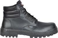 COFRA-MINDORO S3 HRO SRC, Schweißer-Sicherheits-Arbeits-Berufs-Schuhe, Hochschuhe, schwarz