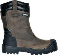 COFRA-BARANOF S3 ÜK CI HRO SRC, Sicherheits-Arbeits-Berufs-Schuhe, braun