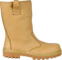 COFRA-FAROE S3 ÜK CI HRO SRC, Winter-Sicherheits-Arbeits-Berufs-Schuhe, beige