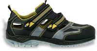 COFRA-ACE S1 P SRC, Sicherheits-Arbeits-Berufs-Schuhe, Halbschuhe, blau