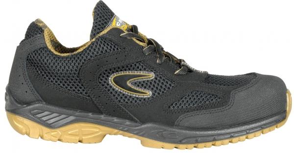COFRA-ADVANTAGE S1P, SRC, Sicherheits-Arbeits-Berufs-Schuhe, Halbschuhe, Farbe: schwarz