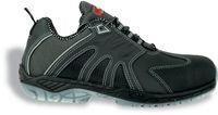 COFRA-BREAK S3, SRC, Sicherheits-Arbeits-Berufs-Schuhe, Halbschuhe, schwarz
