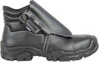 COFRA-BLEND, S3, SRC, Schweißer-Sicherheits-Arbeits-Berufs-Schuhe, Hochschuhe, Klettverschluß, schwarz