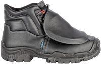 COFRA-BRUNT, S3, M, SRC, Sicherheits-Arbeits-Berufs-Schuhe, Hochschuhe, Sicherheitsverschlußsystem, schwarz