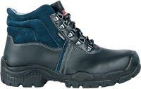 COFRA-BRUGES, S3, SRC, Sicherheits-Arbeits-Berufs-Schuhe, Hochschuhe, schwarz