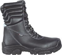 COFRA-BRATISLAV, S3, CI, SRC, Winter-Sicherheits-Arbeits-Berufs-Schuhe, Schnürstiefel, schwarz