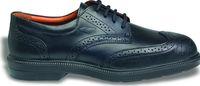 COFRA-BELL S1 SRC, Sicherheits-Arbeits-Berufs-Schuhe, Halbschuhe, schwarz