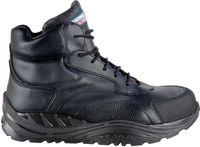 COFRA-PUSHING, S3, CI, SRC, Winter-Sicherheits-Arbeits-Berufs-Schuhe, Hochschuhe, schwarz