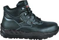 COFRA-BOLSTER, S3, CI, SRC, Winter-Sicherheits-Arbeits-Berufs-Schuhe, Hochschuhe, schwarz