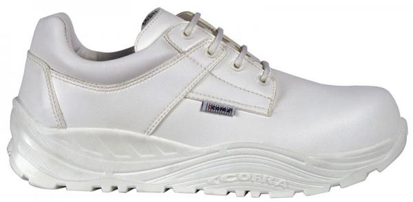 COFRA-TOKUI, S3, CI, SRC, Winter-Sicherheits-Arbeits-Berufs-Schuhe, Halbschuhe, weiß