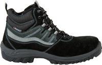 COFRA-AUGSBURG S1 P SRC, Sicherheits-Arbeits-Berufs-Schuhe, Hochschuhe, schwarz