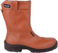 COFRA-ABU DHABI S3 CI SRC, Winter-Sicherheits-Arbeits-Berufs-Schuhe, Schlupfstiefel, braun