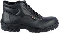 COFRA-ETHYL S3 SRC, Sicherheits-Arbeits-Berufs-Schuhe, Hochschuhe, schwarz