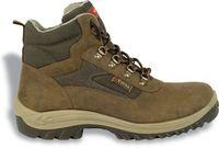 COFRA-BRISTOL S3 SRC, Sicherheits-Arbeits-Berufs-Schuhe, Hochschuhe, braun
