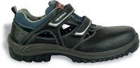 COFRA-BERGEN S1 P SRC, Sicherheits-Arbeits-Berufs-Sandalen, schwarz