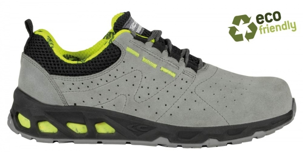COFRA-AREA S1P, SRC, Sicherheits-Arbeits-Berufs-Schuhe, Halbschuhe, Farbe: grau