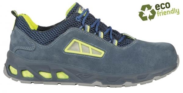 COFRA-BILIARDO S3, SRC, Sicherheits-Arbeits-Berufs-Schuhe, Halbschuhe, Farbe: blau