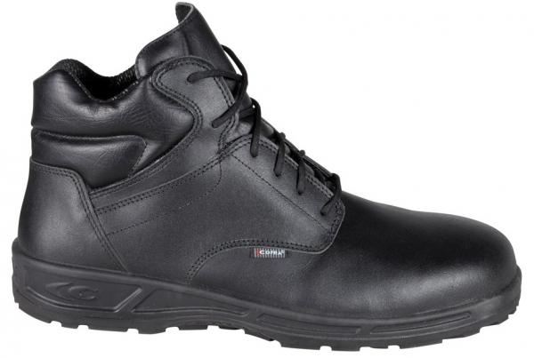 COFRA-S3-Sicherheitsschuhe, DELFO BLACK, SRC, hoch, schwarz