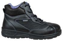 COFRA-BRIGITTE S3 SRC, Sicherheits-Arbeits-Berufs-Schuhe, hoch, schwarz