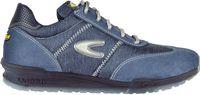 COFRA-BREZZI S1 P SRC, Sicherheits-Arbeits-Berufs-Schuhe, Halbschuhe, blau