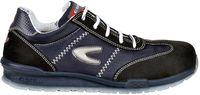COFRA-BRUSONI S1 P SRC, Sicherheits-Arbeits-Berufs-Schuhe, Halbschuhe, schwarz/blau