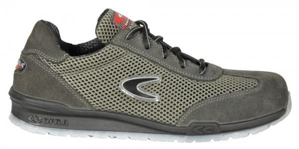 COFRA-ATHLETIC S1 P SRC, Sicherheits-Arbeits-Berufs-Schuhe, Halbschuhe, grau/schwarz