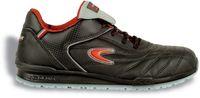 COFRA-MEAZZA S1 P SRC, Sicherheits-Arbeits-Berufs-Schuhe, Halbschuhe, schwarz