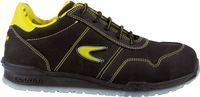 COFRA-COPPI S3 SRC, Sicherheits-Arbeits-Berufs-Schuhe, Halbschuhe, schwarz/gelb
