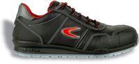 COFRA-ZATOPEK S3, Sicherheits-Arbeits-Berufs-Schuhe, Halbschuhe, schwarz