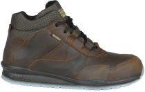 COFRA-BAER S3 SRC, Sicherheits-Arbeits-Berufs-Schuhe, Schnürstiefel, hoch, schwarz