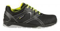 COFRA-ACTION S3 SRC, Sicherheits-Arbeits-Berufs-Schuhe, Halbschuhe, schwarz/gelb