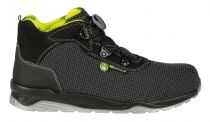 COFRA- POST SEASON S3 ESD SRC, Sicherheits-Arbeits-Berufs-Schuhe, hoch, schwarz/gelb