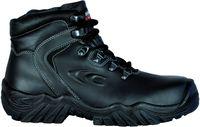 COFRA-PIRENEI BLACK S3 HRO WR SRC, Schweißer-Sicherheits-Arbeits-Berufs-Schuhe, Hochschuhe, schwarz