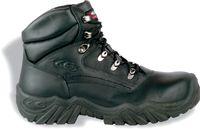 COFRA-ORTLES S3 HRO SRC, Schweißer-Sicherheits-Arbeits-Berufs-Schuhe, Hochschuhe, schwarz