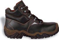 COFRA-POLLINO S3 HRO SRC, Schweißer-Sicherheits-Arbeits-Berufs-Schuhe, Hochschuhe, braun