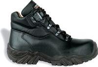 COFRA-K2, S3 HI CI HRO SRC, Sicherheits-Arbeits-Berufs-Schuhe, Halbschuhe, hoch, schwarz