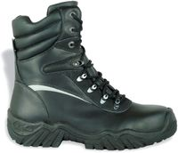 COFRA-TRIVOR  S3 WR CI HRO SRC, Sicherheits-Arbeits-Berufs-Schuhe, Hochschuhe, schwarz