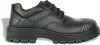 COFRA-ASSEN BLACK S3 HRO SRC, Sicherheits-Arbeits-Berufs-Schuhe, Halbschuhe, schwarz