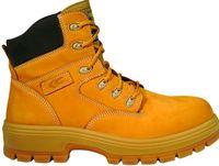 COFRA-BUFFALO S3 WR CI HRO SRC, Sicherheits-Arbeits-Berufs-Schuhe, Hochschuhe, okergelb