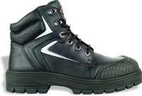 COFRA-YUCATAN BLACK S3 HRO SRC, Schweißer-Sicherheits-Arbeits-Berufs-Schuhe, Hochschuhe, schwarz